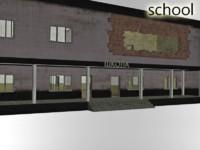 school building fbx