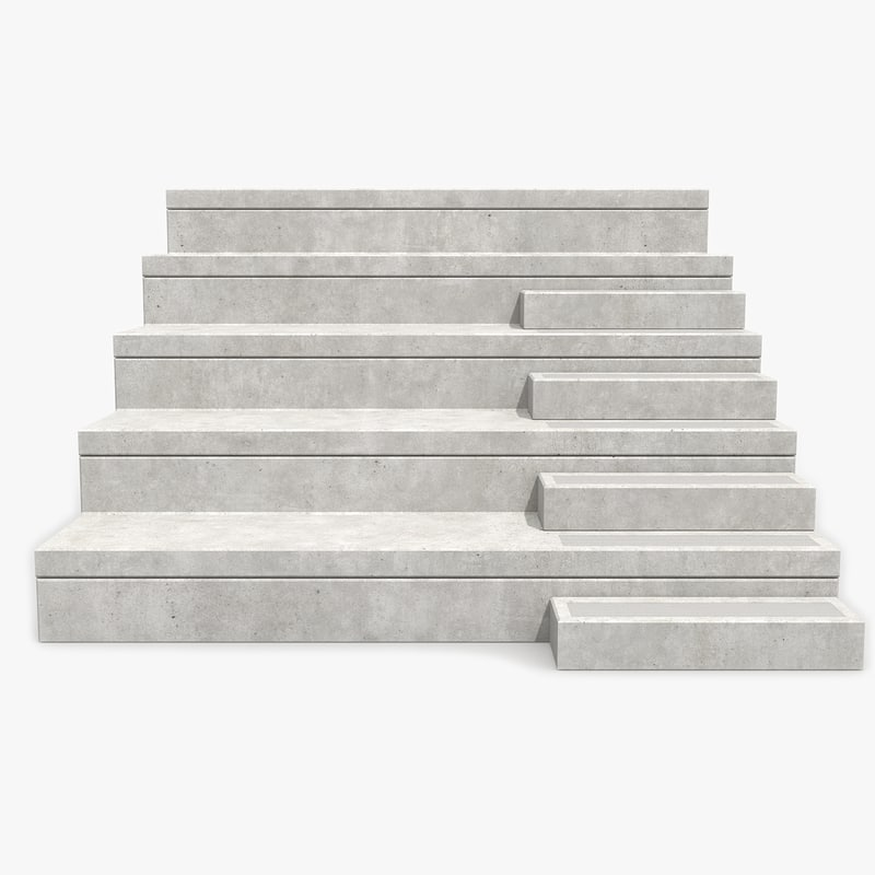 3d concrete stand
