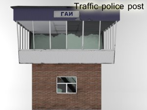 3d traffic post