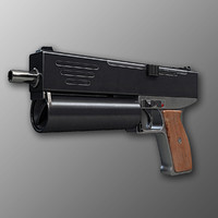 Danuvia VD-01 Machine Pistol