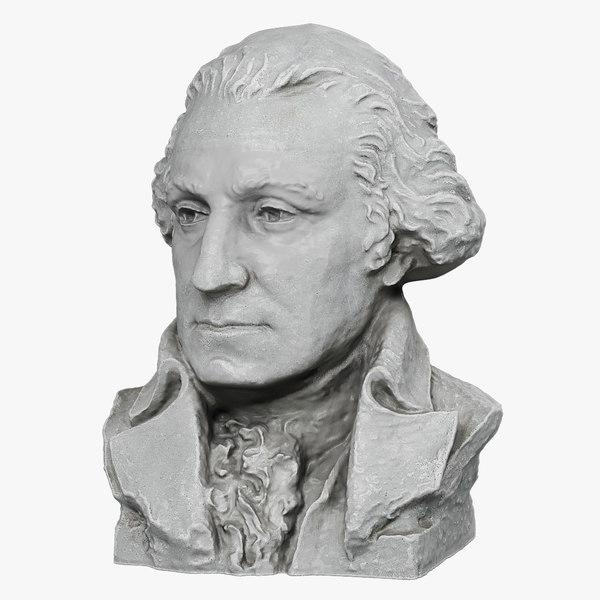 max george washington bust