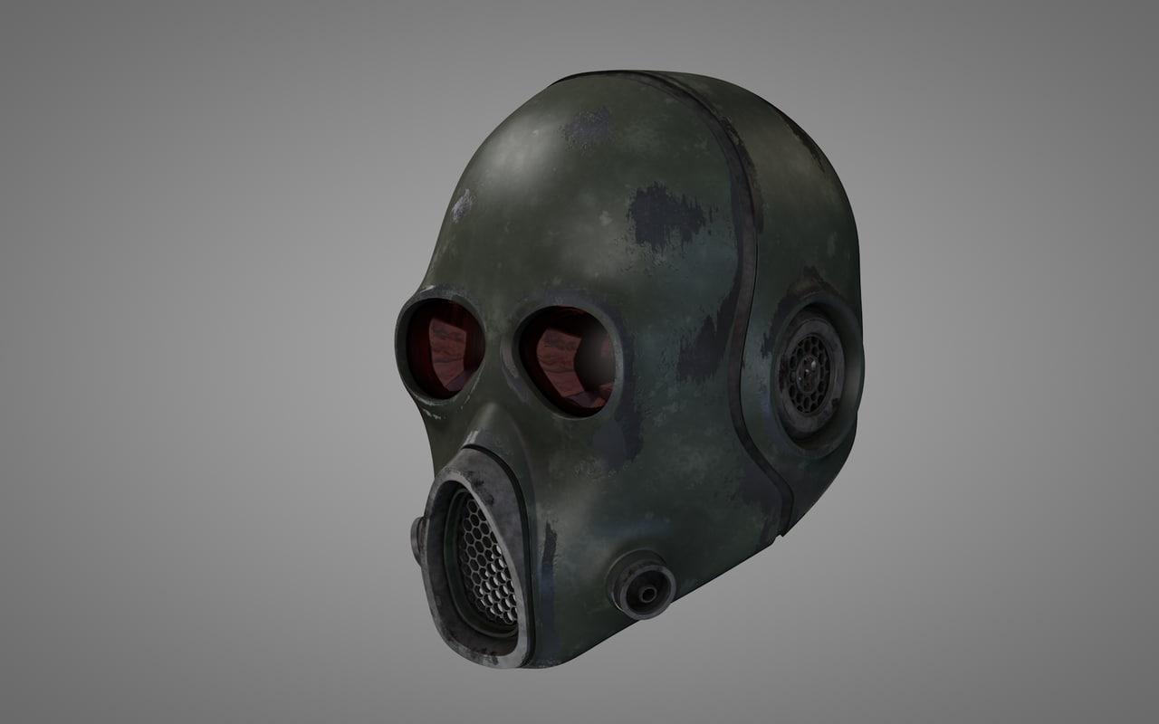 futuristic helmet 3d model