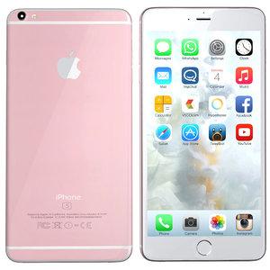 3d modelled iphone 6s rosegold