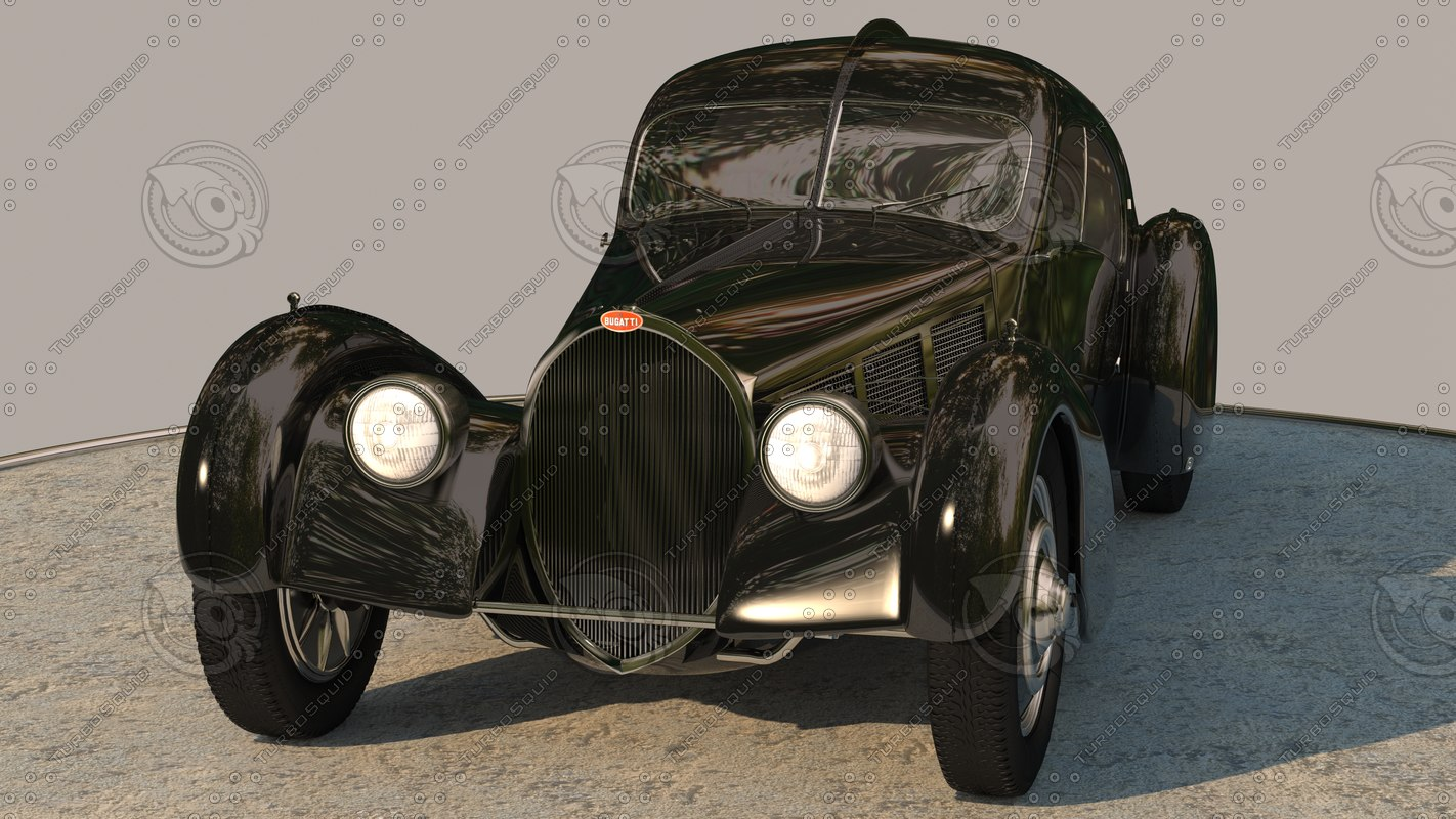 3ds max bugatti type 57sc atlantic
