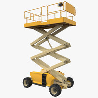 Engine Powered Scissor Lift Generic 2