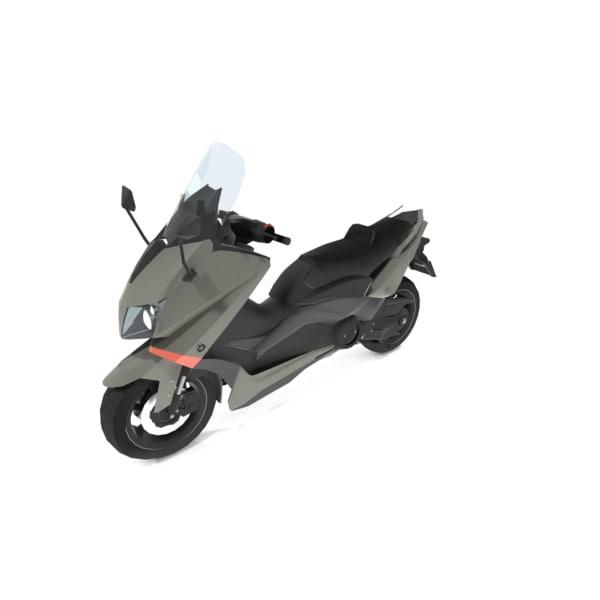 3d yamaha t-max 2016 model
