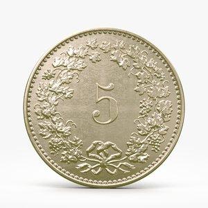 c4d rappen coin