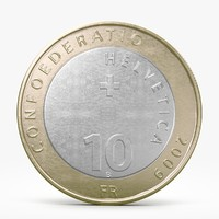 Ten Franks Coin