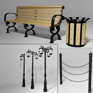 free max model classical street light