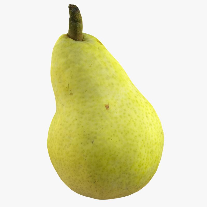 realistic pear max