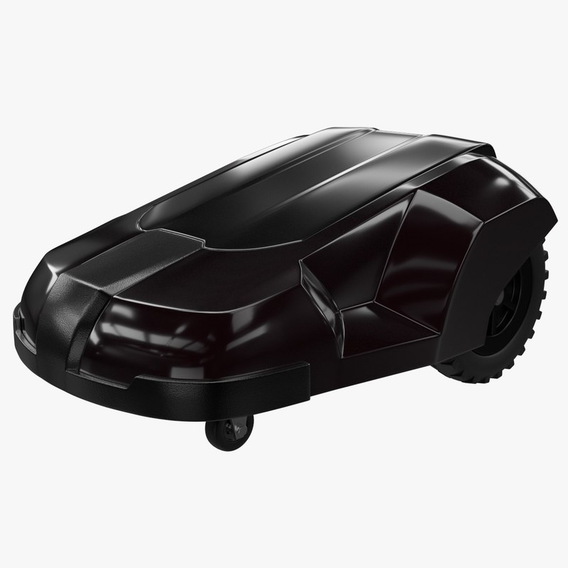 3d robot lawn mower model