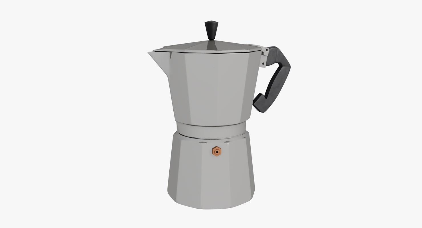 maker coffee 3d model
