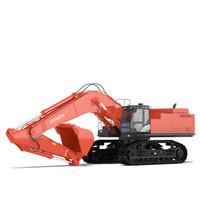 3d excavator hitachi zx870