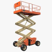 Engine Powered Scissor Lift JLG 2