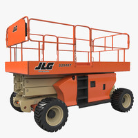 max engine powered scissor lift