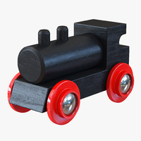 Wooden Toy Train 3