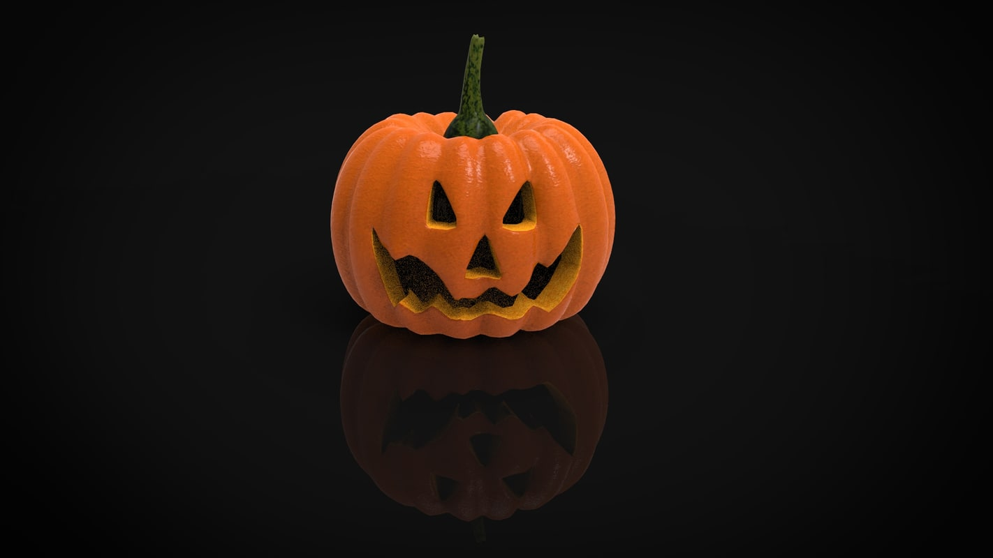 3d model halloween hallowen