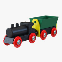 wooden toy train 2 max