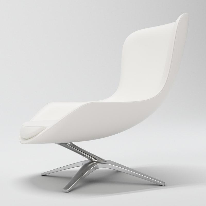heron chair charles 3d max