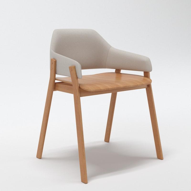 3d clutch chair