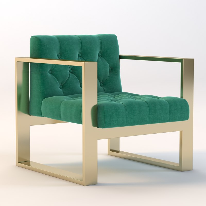 chair kube 3d model