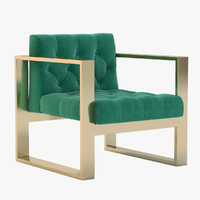Brass Kube Chair