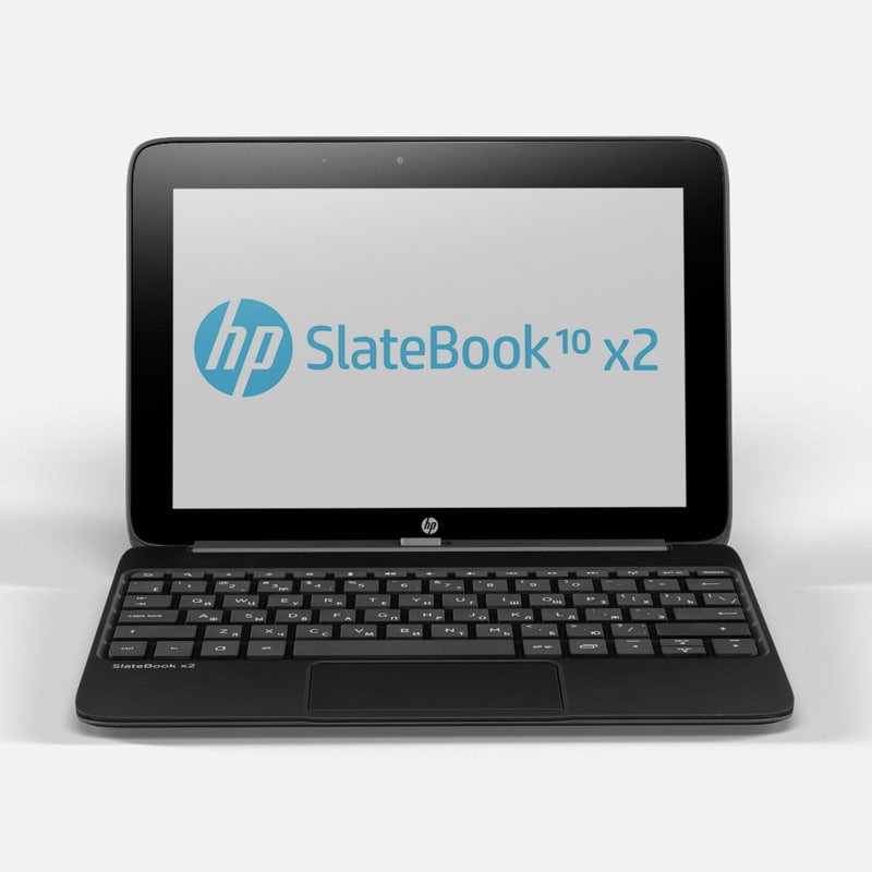 3ds max laptop hp slatebook x2