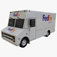 fedex delivery truck max