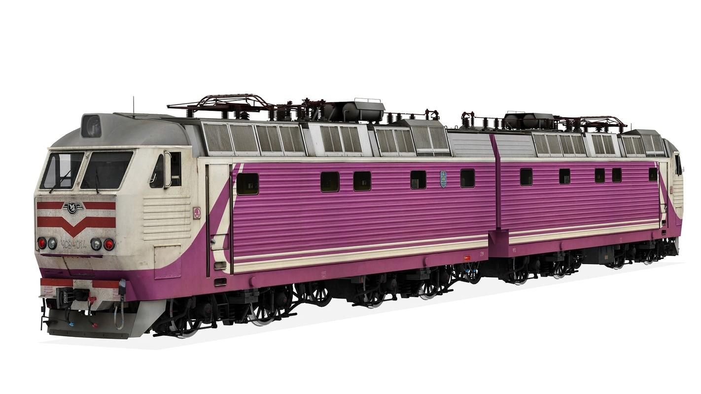 cs8 electric 3d model