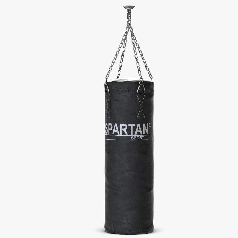punching bag 3d max