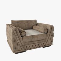 armchair giada zanaboni max