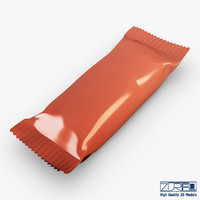 candy wrapper v 1 3d max