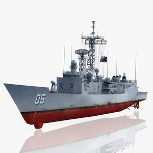 3d hmas melbourne ffg 05 model