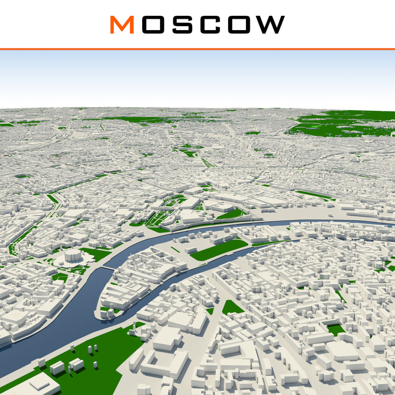 moscow cityscape dwg