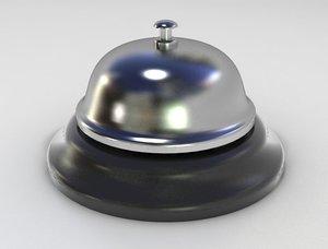 desk bell 3d model