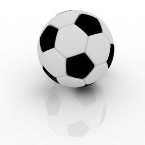 football modelled dxf