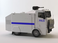3d turkish police car toma model