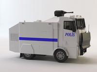 3d turkish police car toma model