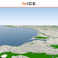 nice cityscape 3d model