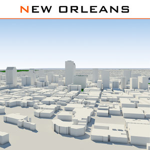 max new orleans cityscape