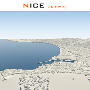 3ds max nice cityscape terrain