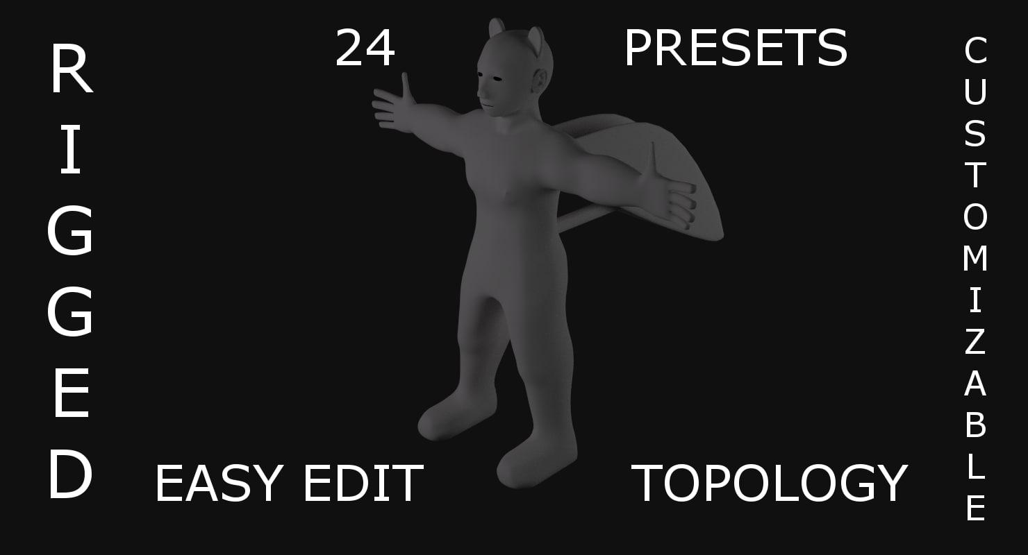 character base pro modeler blend