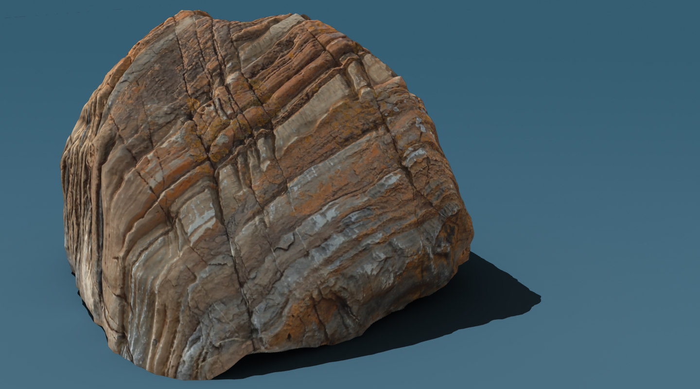 3ds max rock photogrammetry