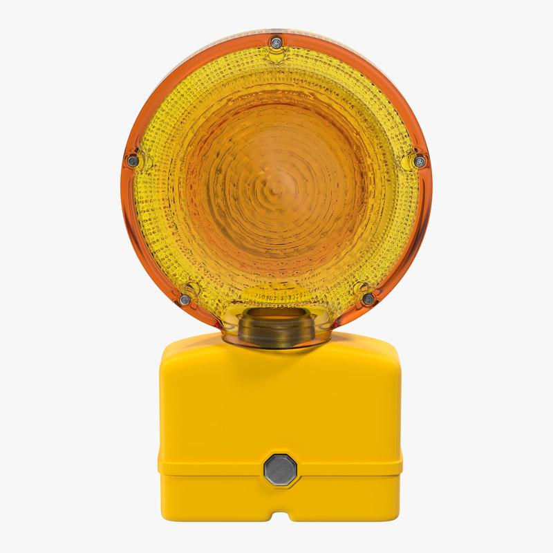 3d warning light 3