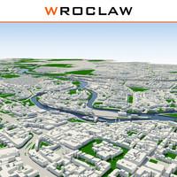 3dsmax wroclaw cityscape