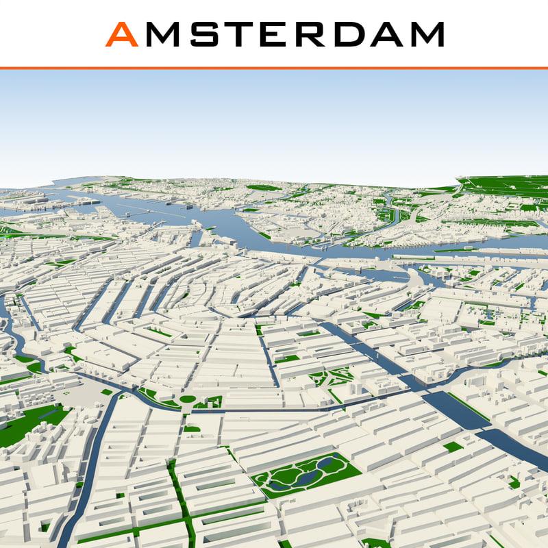 amsterdam cityscape max