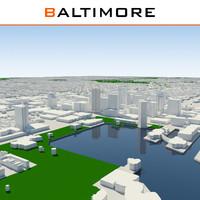 baltimore cityscape max