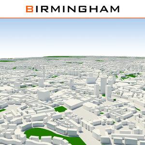 max birmingham cityscape