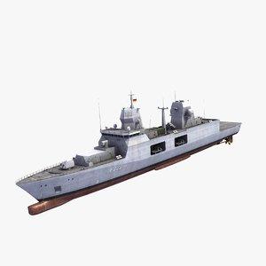 f125 class frigate 3ds