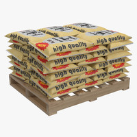 Pallet of Cement Bags 2